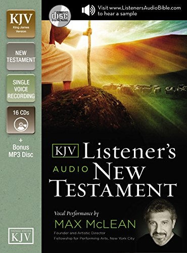 Listener's Audio New Testament-KJV by HarperCollins Christian Pub.