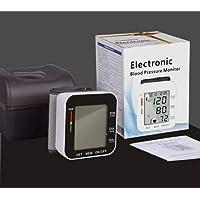 TOPCHANCES Portable Electronic English Voice Prompts Wrist Sphygmomanometer Blood...
