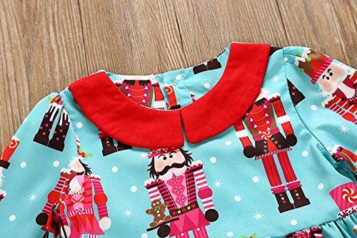 Vestidos niña, ❤ Modaworld Niños Vestido de Fiesta de Princesa bebé niñas Cartoon Trajes de Navidad Ropa Vestido de Fiesta de Princesa para Bebés niña: ...