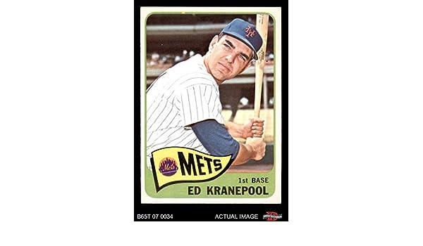 1969 Topps #381 Ed Kranepool New York Mets Baseball Card Honkbal Verzamelkaarten: sport