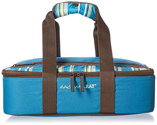 - Rachael Ray Lasagna Lugger, Insulated Casserole Carrier for Potluck Parties, Picnics, Tailgates - Fits 9