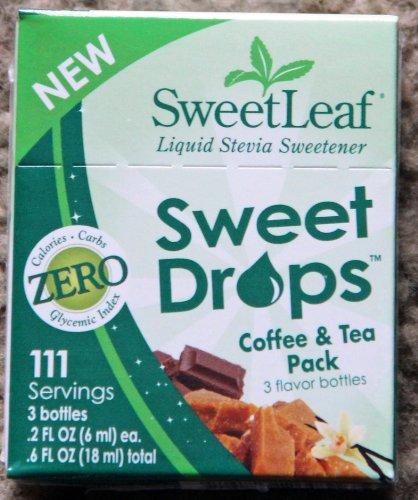 Café et thé Sweetleaf Pack - 3