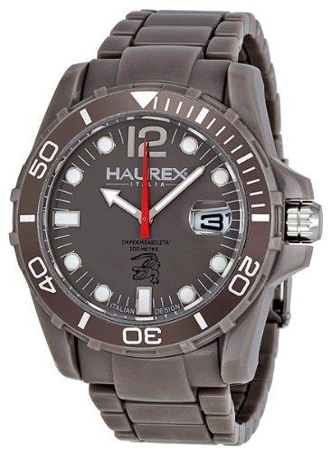 Haurex Italy Men's G7354UGG Caimano Grey Sport Watch