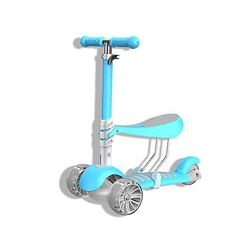 Children scooter Patinete 3 en 1 para niños con Asiento de ...