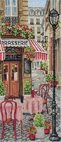 Anchor French City Scene Cross Stitch Kit