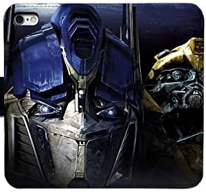 Generic Custom Flip Wallet Case,Transformers Leather Case for iPhone 5 5S SE Black S-45132246