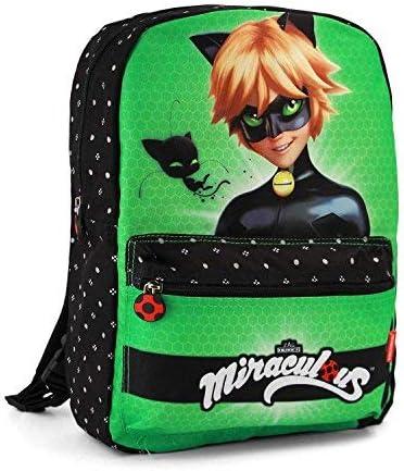 Miraculous Ladybug Cat Noir Reversible Backpack