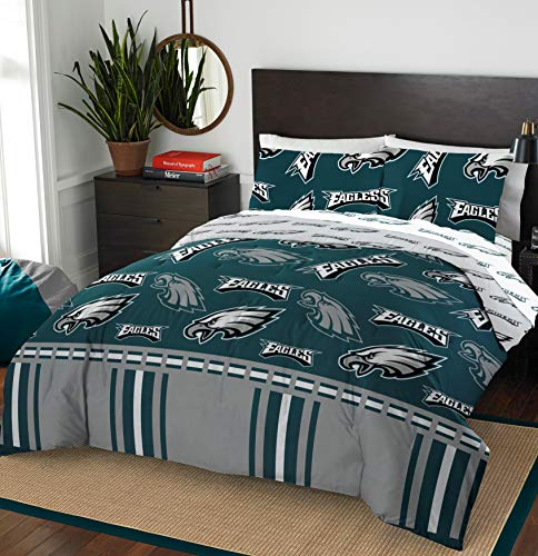 The Northwest Company NFL Philadelphia Eagles Queen Bed in a Bag Complete Bedding Set #986340689