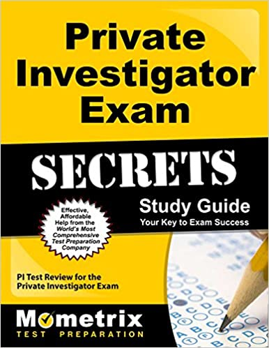 Private investigator exam secrets study guide pi test review for private investigator exam secrets study guide pi test review for the private investigator exam mometrix secrets study guides fandeluxe Gallery