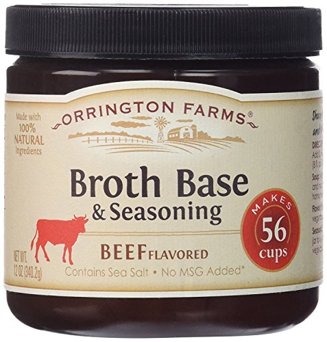 (Orrington Farms Beef Flavored Soup Base 56 Servings (2 Pack))