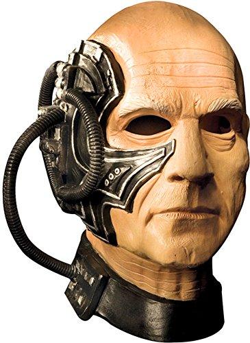 Locutus Mask Costume (Borg Mask)