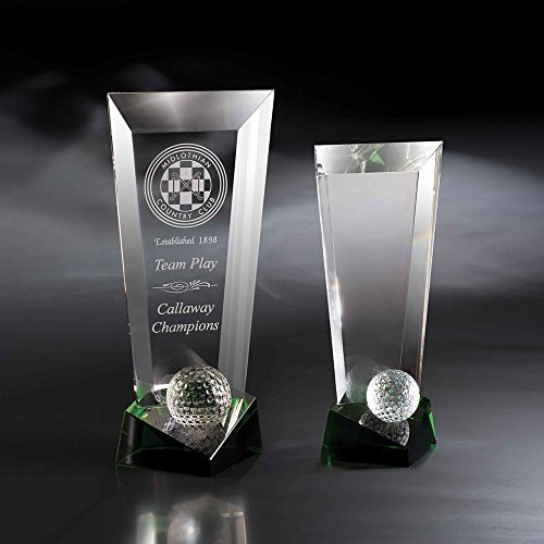 Custom Crystal Etched Award, 11