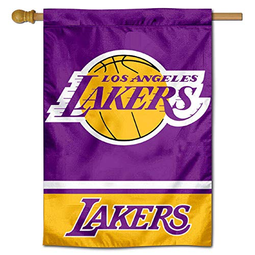 LA Lakers Two Sided House Flag ()