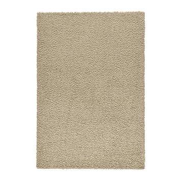Ikea Hampen Teppich Hochflor Beige 160 X 230 Cm Amazon De