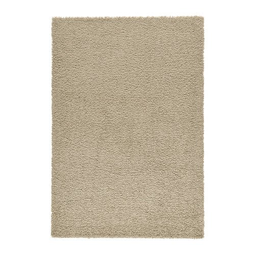 Ikea HAMPEN - Rug, high pile, beige - 160x230 cm