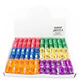 Fun Central AU204 Bulk Plastic Pencil Sharpener Assortment (72 Pack)