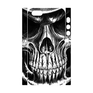 ALICASE Diy Customized Case Skull 3D Case for iPhone 5,5S [Pattern-6]
