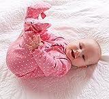 Gerber Baby Girls' 2 Pack Zip Front Sleep 'n