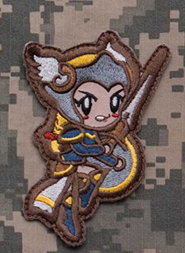 Mil-Spec Monkey Cute Valkyrie Patch- Full Color