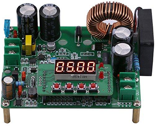 Yeeco DC Buck Converter, 720W 12A Numerical Control DC-DC Step Down Voltage Regulator 10-75V 24V 36V 48V to 0-60V 5V 12V Adjustable Voltage Step Down Power Supply Module LED Display CC CV Mode (Supply Watt 720 Power)