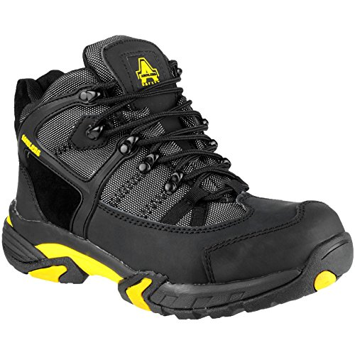 Amblers Safety Mens FS3 Safety Boots Black Black