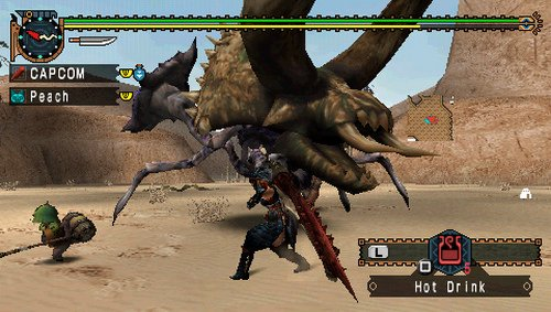 Monster Hunter Freedom Unite - Sony PSP