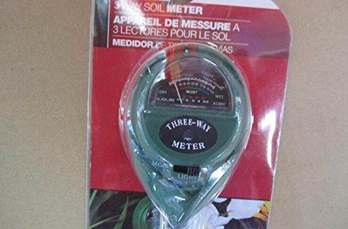 Ph Tester Soil Water Moisture Light Test Meter for Garden Pl