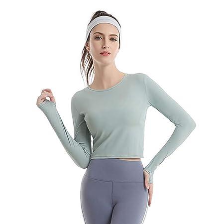 Camisetas de entrenamiento para mujeres, camisetas de yoga ...