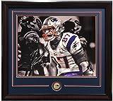 Rob Gronkowski signed 11x14 photo framed New England Patriots Coin auto JSA COA