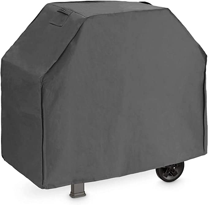58-Inch Waterproof BBQ Cover Grill Cover 600D Heavy Duty Dust-Proof Polyester