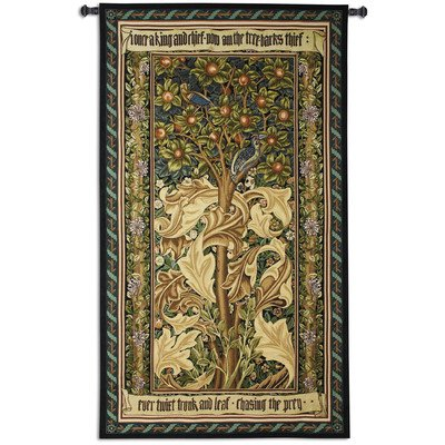 William Morris Woodpecker Wall Tapestry