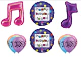 Fresh Beat Band Musical Birthday Party Balloons Favors Decorations Supplies
