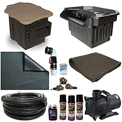 PVCXLP Series Patriot PVC Liner Pond Kits