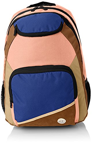 RoxyShadow Swell CK - Mochila Escolar Mujer Multicolor - Multicolore (True Black)