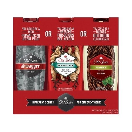 Gel Triple Pack - Old Spice Body Wash Variety Triple Pack ( 16 fl. oz., 3 pk.) w/ Bonus Full Size Pure Sport Deodorant