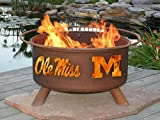 Patina F242 Ole Miss Fire Pit For Sale