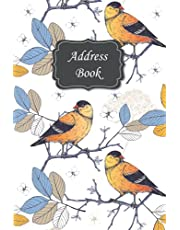 Address Book: Record Birthday, Phone Number, Address, Email and Notes - address book and birthday ... address book with tabs (For Women and Seniors) , address books for women with tabs