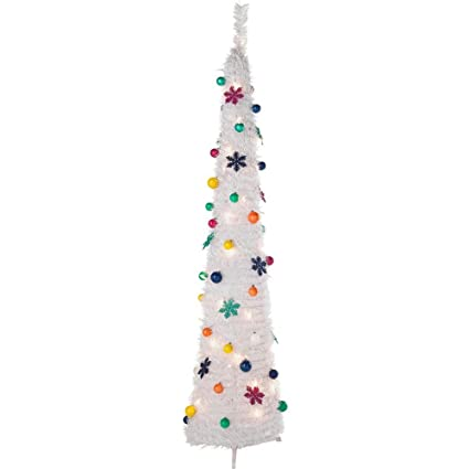 Pop Up Jolly Holidays White Christmas Tree 6ft By Argos Amazon Co