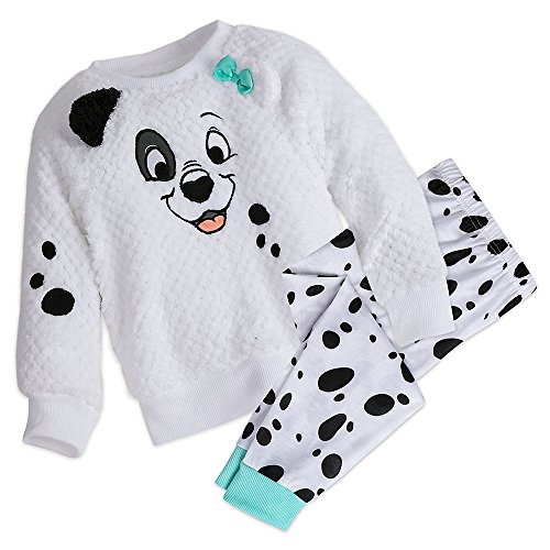 Disney Patch PJ Set For Girls - 101 Dalmatians Size 9/10