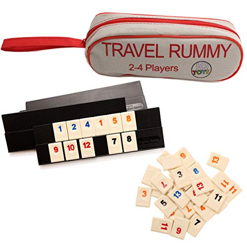 Travel Rummy in A Strong Travel Bag - for 2-4 Players