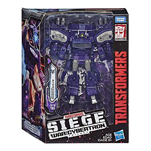 (Transformers Generations War for Cybertron: Siege Leader Class WFC-S14 Shockwave Action Figure)