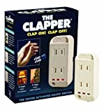 The Clapper Sound Activated On/Off Switch, 1 Each by The Clapper