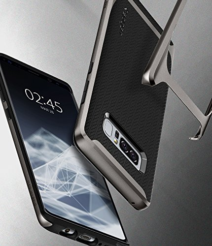 Spigen Neo Hybrid Galaxy Note 8 Case with Herringbone Flexible Inner Protection and Reinforced Hard Bumper Frame for Galaxy Note 8 (2017)