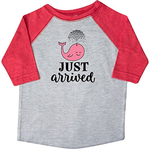 inktastic Just Arrived Baby Girl Toddler T-Shirt 2T Heather and Red 2d606