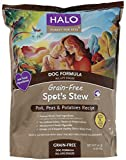 Halo Spot's Stew Grain Free Pork Peas and Potatoes Dog Food, 14-Pound