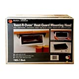 Black & Decker Heat Guard Mounting Hood TMB2 Toast-R-Oven Black Under Cabinet