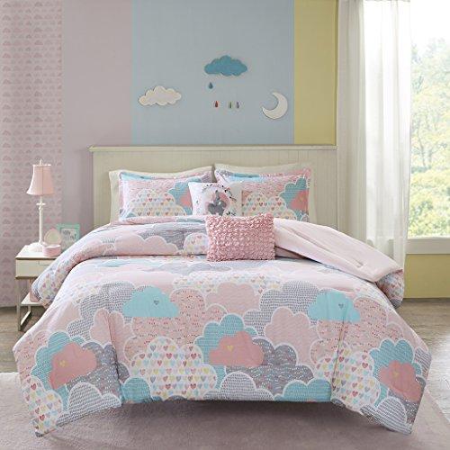 Urban Habitat Kids Cloud Comforter Set, Twin, Pink