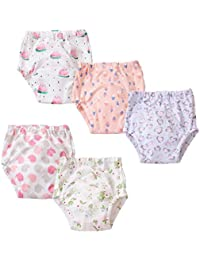 Baby Girls' Boys' Cloth Nappy Underwear Breathable Diaper Washable Cotton Training Pants
