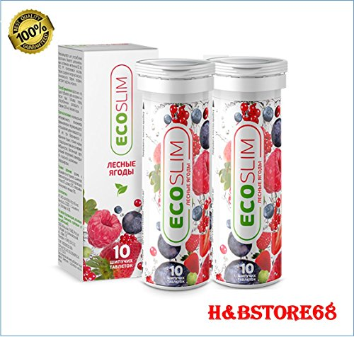 ECOSLIM weight loss supplement, only natural ingredients..