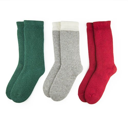 Original Thermal Wool Socks 3 Pack - Women Duray